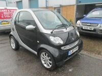 merc smart car 2007 07,reg 700cc semi auto with only 65k long mot great condition px/welcome