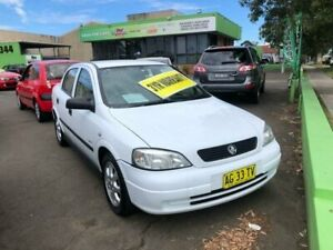 2005 Holden Astra TS MY05 Classic White 4 Speed Automatic Sedan Lidcombe Auburn Area Preview