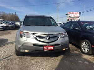 2009 Acura MDX|BLACK LEATHER|ACCIDENT FREE|AWD|