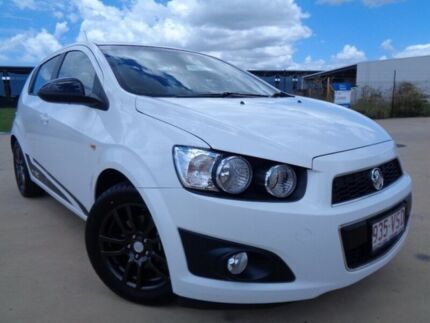 2015 Holden Barina TM MY15 X White 6 Speed Automatic Hatchback Garbutt Townsville City Preview