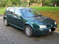 1.6 GOLF SE HATCHBACK GREEN