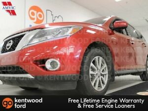 2015 Nissan Pathfinder SV 4WD with power heated seats, heated st