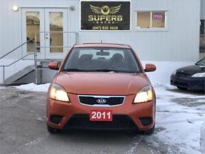 2011 Kia Rio EX NO ACCIDENT, CERTIFIED, SUPER MAINTAINED.