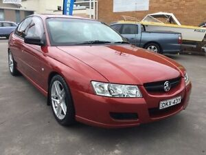 2006 Holden Commodore VZ Executive Orange Red 4 Speed Automatic Sedan Boolaroo Lake Macquarie Area Preview
