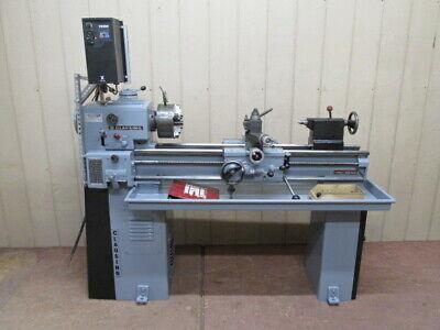 Clausing Model 5914 Tool Room Metal Lathe 12 X 36 Vfd 1 Ph 220v 4 Jaw Chuck