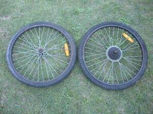 "24"" Bicycle Wheels $18 pair Albion Brisbane North East Preview"