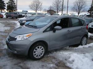 2015 NISSAN VERSA NOTE SV - ONLY 17 K * FACTORY WARR UP 100 K
