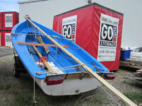 16' Albacore Sailboat with Trailer