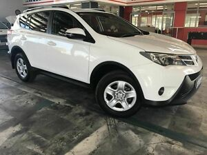 2013 Toyota RAV4 ZSA42R GX 2WD White 7 Speed Constant Variable Wagon Welshpool Canning Area Preview