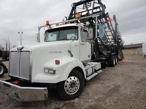 2006 Western Star with BRAND NEW Cancade 17 bale deck