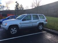 Jeep GRAND CHEROKEE 2.7 Diesel 4X4 Runs and drives, no MOT as has front Diff issue