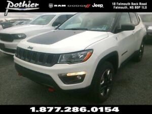 2018 Jeep Compass Trailhawk | LEATHER | 8.4 TOUCHSCREEN | HEATED