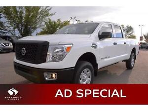 2016 Nissan Titan XD S GAS Internet Special was $47695 Now$39998