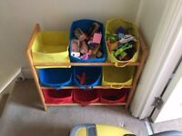 Boys storage boxes