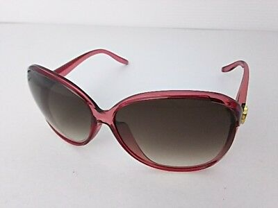 Auth GUCCI Lovely GG3525/K/S Dark Gray Pink Gold Plastic Hardware Sunglasses