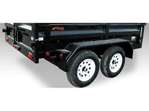 2014 Mirage Heavy Duty Bumper Pull Dump Trailer 7x12