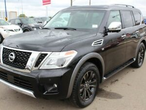 2018 Nissan Armada PLATINUM RESERVE: Premium two-tone leather-ap