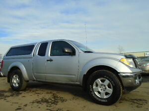 2006 nissan frontier se king cab-4X4--WITH CANOPY