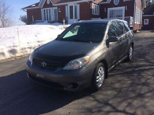TOP CLEAN 2007 Toyota Matrix Wagon NO Rust One Owner Low KM