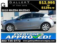 2010 Mazda 3 Sport $129 bi-weekly APPLY NOW DRIVE NOW
