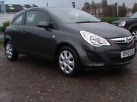 VAUXHALL CORSA 1.2 EXCLUSIVE A/C 3 DR GREY,1 YRS MOT,CLICK ON VIDEO LINK TO SEE CAR IN GREATER DETAI
