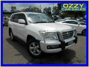 2010 Toyota Landcruiser UZJ200R 09 Upgrade Sahara (4x4) White 5 Speed Automatic Wagon Penrith Penrith Area Preview