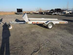 Galvanised 58X144 Snowmobile Trailer