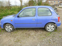 spares or repairs nissan micra s