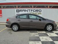 2012 Honda Civic LX $63.05 Per Week*