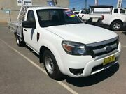 2009 Ford Ranger PK XL (4x2) White 5 Speed Manual Cab Chassis Mitchell Gungahlin Area Preview