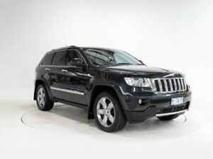 2012 Jeep Grand Cherokee WK MY13 Overland (4x4) Blue 5 Speed Automatic Wagon Devonport Devonport Area Preview