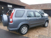 56 HONDA CR-V 2.0 i-VTEC EXECUTIVE AUTOMATIC 4X4 94K FHSH NEW MOT NO ADVISORIES