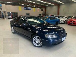 2004 Ford Falcon BA XT Blue 4 Speed Sports Automatic Sedan