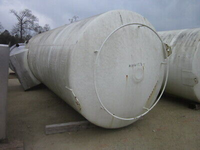 5900 Gallon Sanitary Stainless Steel Tank Vertical Jacketed