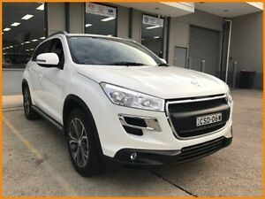 2014 Peugeot 4008 MY14 Upgrade Active (4x2) White 6 Speed CVT Auto Sequential Wagon Blacktown Blacktown Area Preview