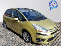CITROEN C4 PICASSO 2.0HDi 16V Exclusive 5dr EGS [5 Seat] (beige) 2008