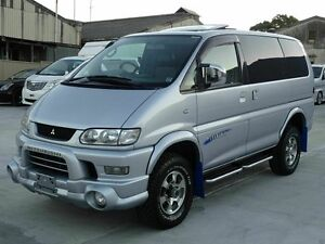 2005 Mitsubishi Delica SPACEGEAR Low Roof Sunroof Silver 4 Speed Automatic Wagon Taren Point Sutherland Area Preview