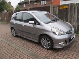 HONDA JAZZ 2005 SPORTS AUTOMATIC 70,000 MLS 12 MONTHS M.O.T AND TAXED