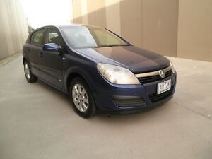 2006 Holden Astra AH MY07 CD Dark Blue 4 Speed Automatic Hatchback Heatherton Kingston Area Preview