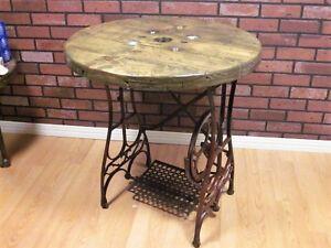 Magnifique Table Console de Style Industriel