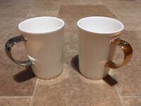 8 John Lewis bone china mugs for sale (£30), original cost £112