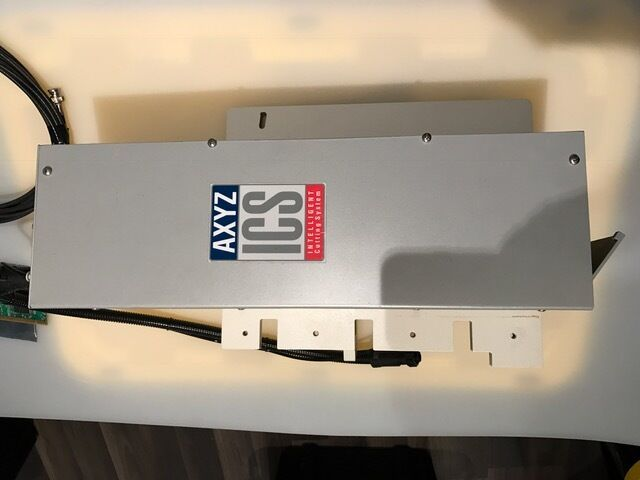 AXYZ I-Cut system for AXYZ router