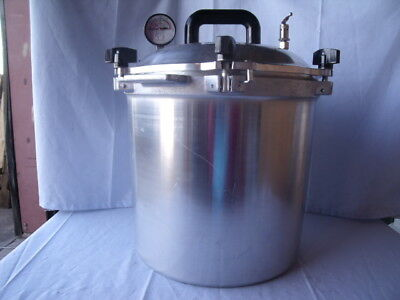 All American Pressure Steam Sterilizer 1925x 25qt 24 Liter