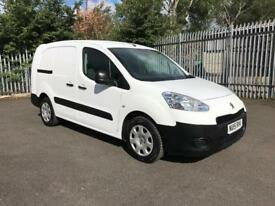 Peugeot Partner L2 716 1.6HDI 92PS CREW VAN EURO 5 DIESEL MANUAL WHITE (2015)