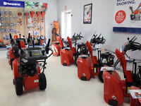 Husqvarna Snowblowers 0% Interest for 36 Months!