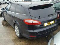 Ford Mondeo MK 4 Estate Rear Bumper in Black 2007 2008 2009 2010 2011