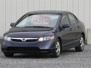 2007 HONDA CIVIC LX AUTOMATIQUE/FULL EQUIPEE