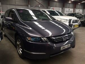 2005 Honda Odyssey 20 Luxury Grey Mica 5 Speed Sequential Auto Wagon Macquarie Hills Lake Macquarie Area Preview