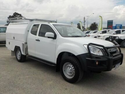 2013 Isuzu D-MAX White Sports Automatic Cab Chassis