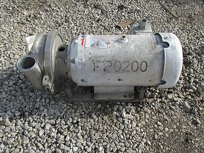 2.5 X 2 Waukesha Cherry Burrell Centrifugal Pump Ss 48894